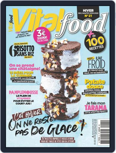 Vital Food (Digital) December 1st, 2019 Issue Cover