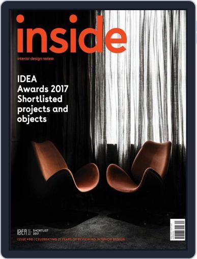 (inside) interior design review (Digital) September 1st, 2017 Issue Cover