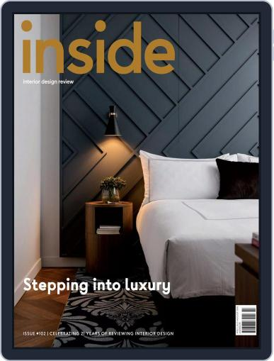 (inside) interior design review (Digital) July 1st, 2018 Issue Cover
