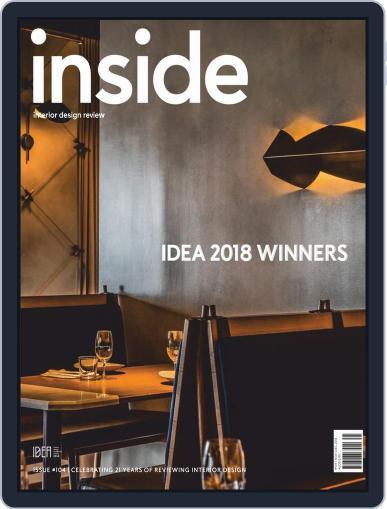 (inside) interior design review (Digital) November 1st, 2018 Issue Cover