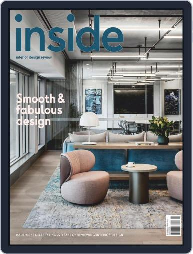 (inside) interior design review (Digital) July 1st, 2019 Issue Cover