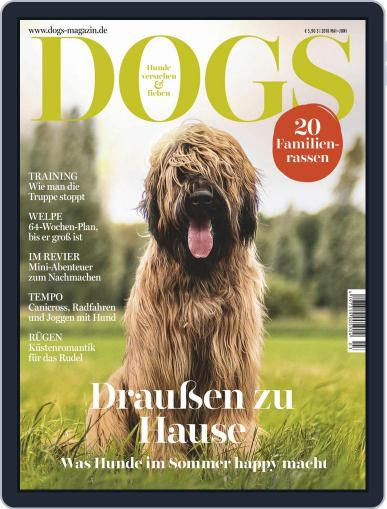 dogs May 1st, 2018 Digital Back Issue Cover