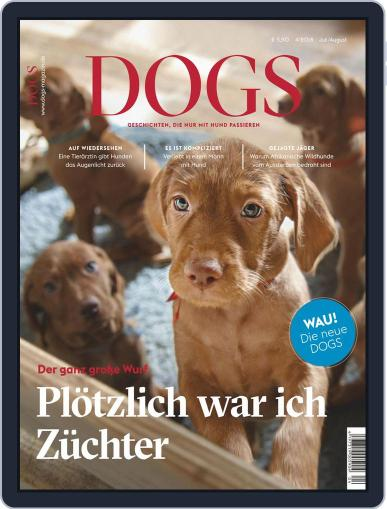 dogs July 1st, 2018 Digital Back Issue Cover