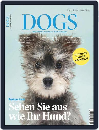 dogs January 1st, 2019 Digital Back Issue Cover