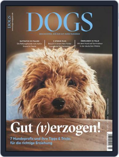 dogs September 1st, 2019 Digital Back Issue Cover