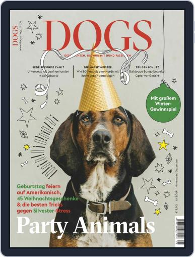 dogs November 1st, 2019 Digital Back Issue Cover