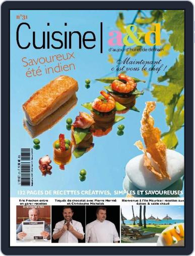 Cuisine A&D (Digital) October 28th, 2014 Issue Cover
