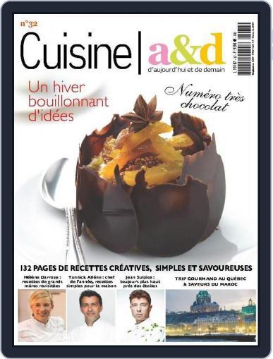 Cuisine A&D (Digital) November 29th, 2014 Issue Cover
