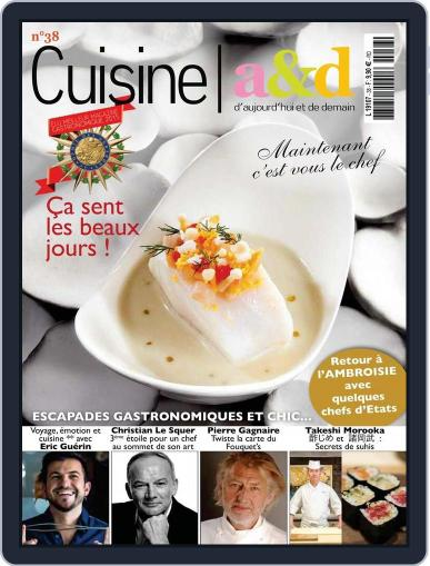Cuisine A&D (Digital) February 20th, 2016 Issue Cover
