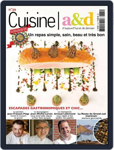 Cuisine A&D (Digital) April 20th, 2016 Issue Cover