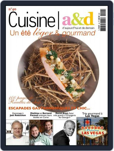 Cuisine A&D (Digital) June 20th, 2016 Issue Cover
