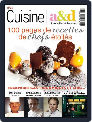 Cuisine A&D (Digital) August 1st, 2016 Issue Cover