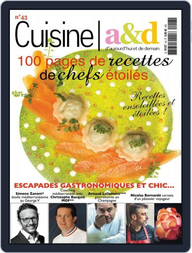 Cuisine A&D (Digital) April 1st, 2017 Issue Cover