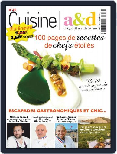 Cuisine A&D (Digital) June 1st, 2018 Issue Cover