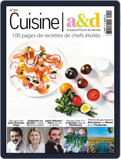 Cuisine A&D (Digital) August 1st, 2018 Issue Cover