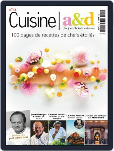 Cuisine A&D (Digital) October 1st, 2018 Issue Cover