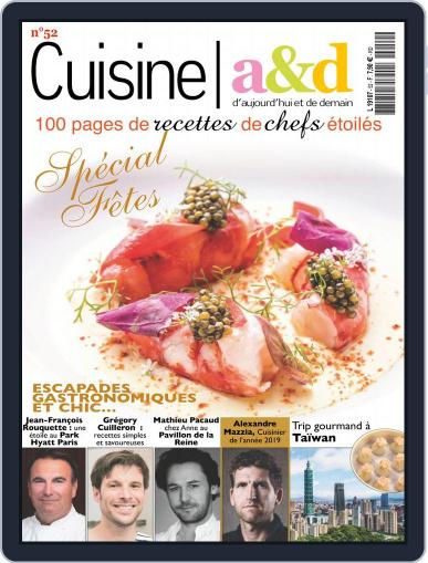 Cuisine A&D (Digital) December 1st, 2018 Issue Cover