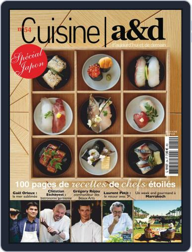 Cuisine A&D (Digital) April 1st, 2019 Issue Cover