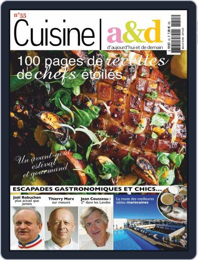 Cuisine A&D (Digital) May 1st, 2019 Issue Cover