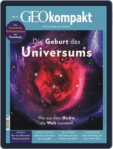 GEOkompakt (Digital) June 1st, 2017 Issue Cover