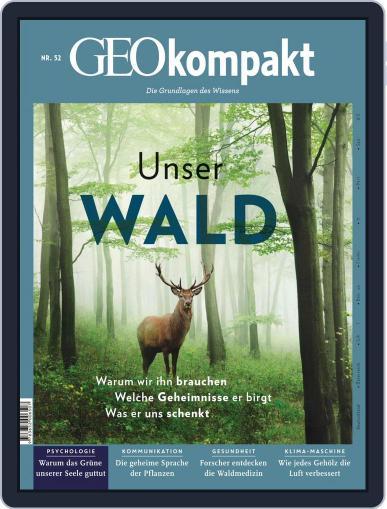 GEOkompakt (Digital) October 1st, 2017 Issue Cover