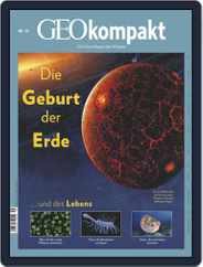GEOkompakt (Digital) Subscription October 1st, 2018 Issue