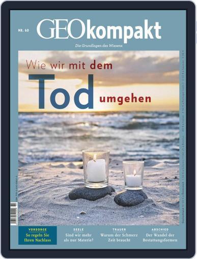 GEOkompakt (Digital) September 1st, 2019 Issue Cover