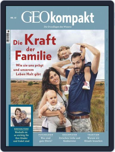 GEOkompakt (Digital) December 1st, 2019 Issue Cover
