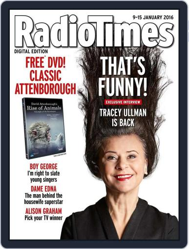 Radio Times January 5th, 2016 Digital Back Issue Cover