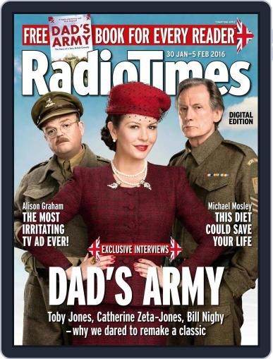 Radio Times January 26th, 2016 Digital Back Issue Cover
