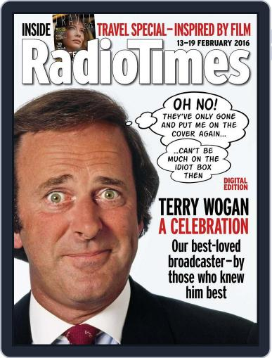Radio Times February 9th, 2016 Digital Back Issue Cover