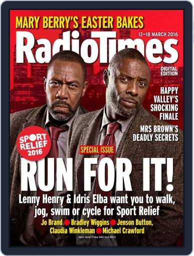 Radio Times March 8th, 2016 Digital Back Issue Cover