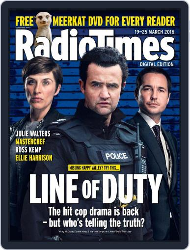 Radio Times March 15th, 2016 Digital Back Issue Cover