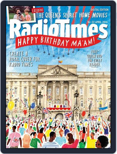 Radio Times April 12th, 2016 Digital Back Issue Cover