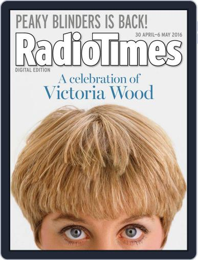 Radio Times April 26th, 2016 Digital Back Issue Cover