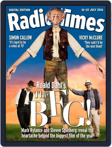 Radio Times July 12th, 2016 Digital Back Issue Cover
