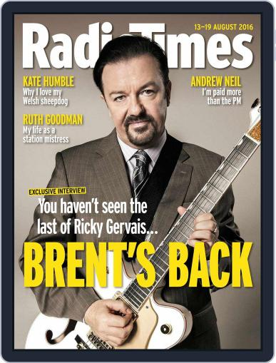 Radio Times August 9th, 2016 Digital Back Issue Cover
