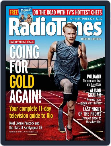 Radio Times September 10th, 2016 Digital Back Issue Cover
