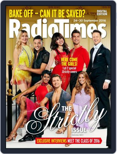 Radio Times September 24th, 2016 Digital Back Issue Cover