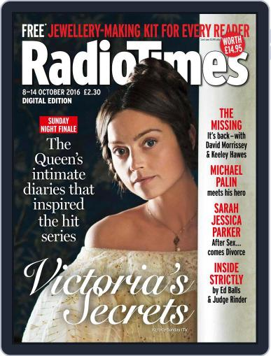 Radio Times October 8th, 2016 Digital Back Issue Cover