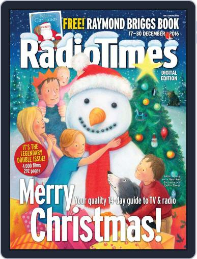 Radio Times December 17th, 2016 Digital Back Issue Cover
