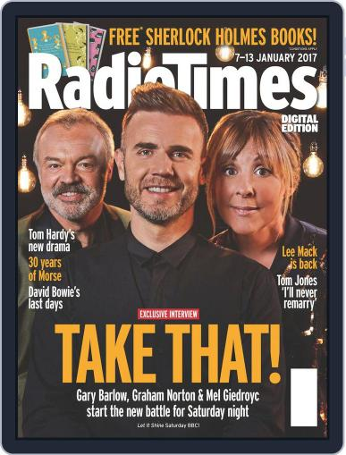 Radio Times January 7th, 2017 Digital Back Issue Cover