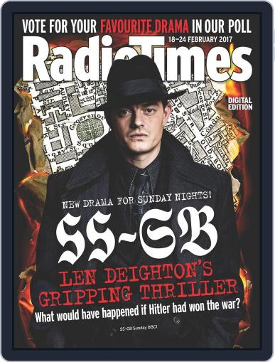 Radio Times February 18th, 2017 Digital Back Issue Cover