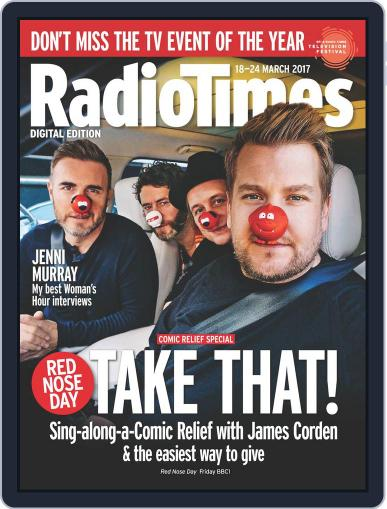 Radio Times March 18th, 2017 Digital Back Issue Cover