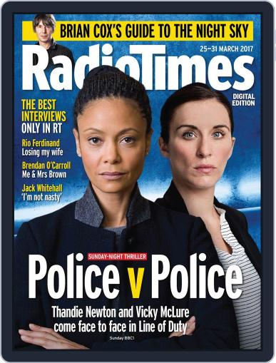 Radio Times March 21st, 2017 Digital Back Issue Cover