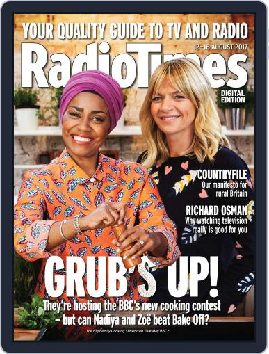 Radio Times August 12th, 2017 Digital Back Issue Cover