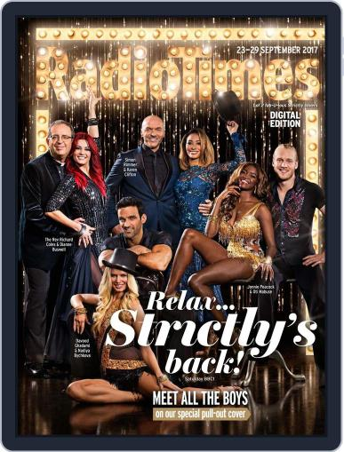Radio Times September 23rd, 2017 Digital Back Issue Cover