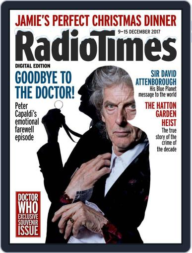 Radio Times December 9th, 2017 Digital Back Issue Cover