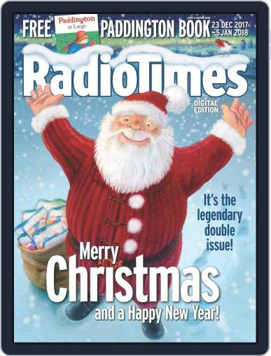 Radio Times December 23rd, 2017 Digital Back Issue Cover