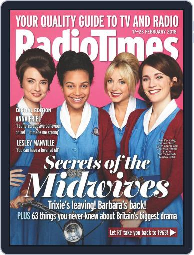 Radio Times February 17th, 2018 Digital Back Issue Cover